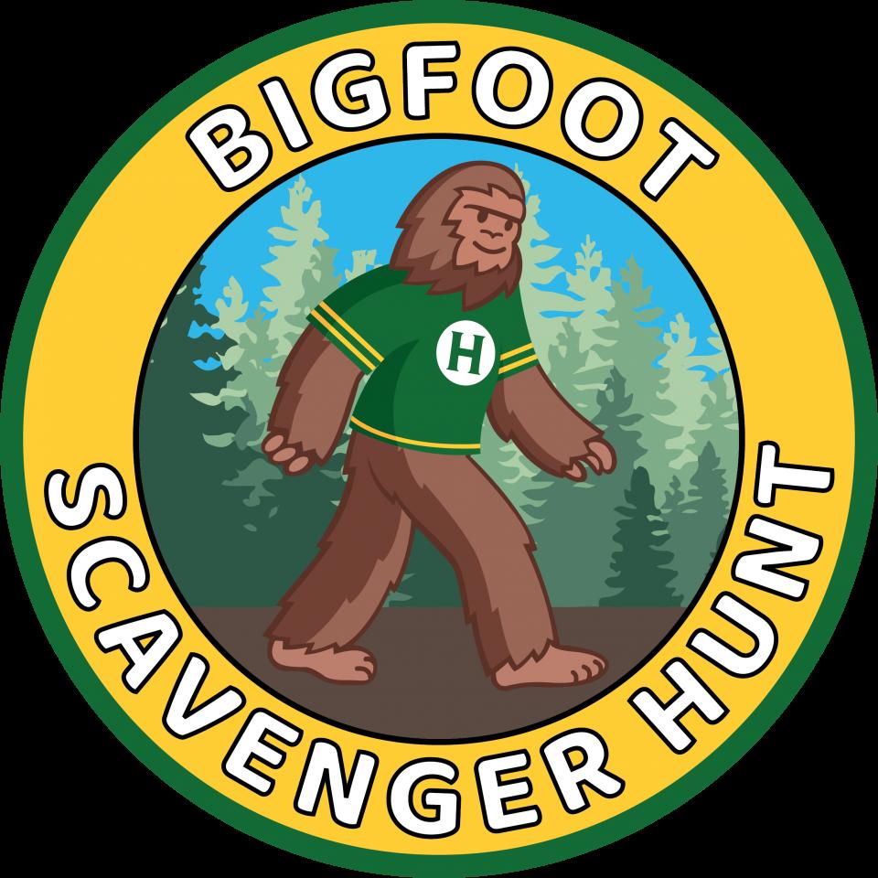 Bigfoot Scavenger Hunt- Click here for the google form
