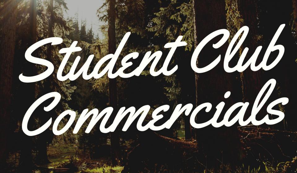 Student Club Commercials